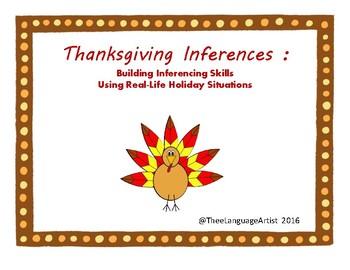 Thanksgiving Inferences: Life Skills