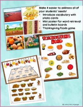 Thanksgiving Riddles & Manners- Social Skills, Articulation, Special Ed, Speech