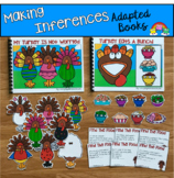 Thanksgiving Inferencing Stories:  Adapted Books For Pract