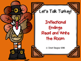 Thanksgiving Inflectional Endings Read and Write the Room