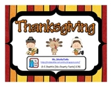 Thanksgiving Informative  Writing Freebie Common Core Style