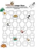 Thanksgiving Integer Maze