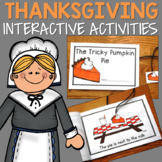 Thanksgiving Interactive Activities