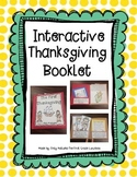 Thanksgiving Interactive Booklet