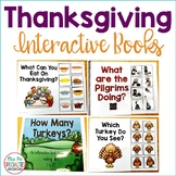 Thanksgiving Interactive Books (Adapted Books For Special