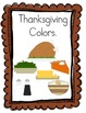 Thanksgiving Interactive Emergent Readers