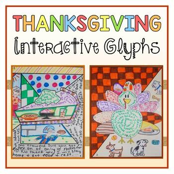 Thanksgiving Interactive Glyphs