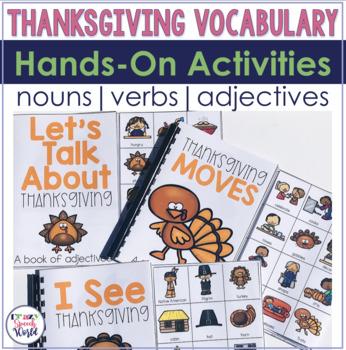 Thanksgiving Interactive Vocabulary Activities