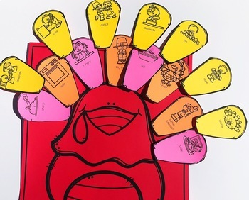Thanksgiving Interactive Vocabulary Activities