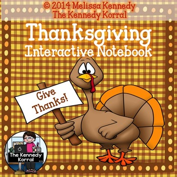Thanksgiving Verbs IN {Counting My Blessings; Yummy, Yummy