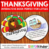 Thanksgiving Kindergarten Interactive Book