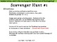 """Thanksgiving """"Introduction to Integers"""" Scavenger Hunts"""