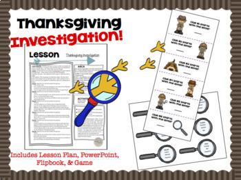 Thanksgiving Activities Investigation