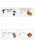 Thanksgiving Irregular Verb Game and Sort