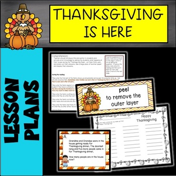 """Thanksgiving Is Here"" by Diane Goode Read Aloud Lesson"