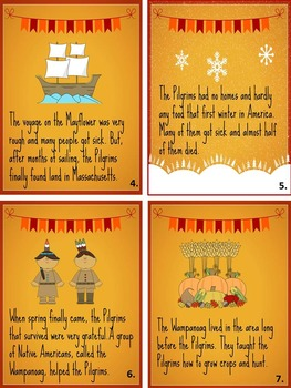"""Thanksgiving Is"" Printable Informational Book"