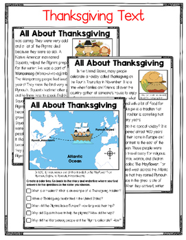 Thanksgiving Jeopardy Style Game Show, Story, and Study Cards