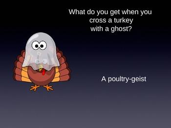 Thanksgiving Jokes For Kids - PowerPoint