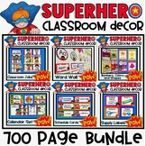 Superhero Classroom Decor Bundle
