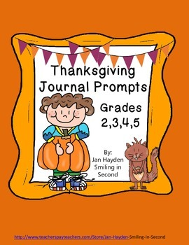 Thanksgiving Journal Prompts