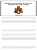 Thanksgiving Journal Prompts Grades K-6