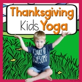 Thanksgiving KIDS Yoga Cards and Printables