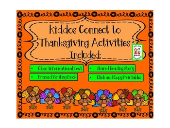 Thanksgiving - Kiddos Connect to Thanksgiving