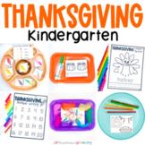Thanksgiving Kinder Math & Literacy Pack   20 Kindergarten Activities