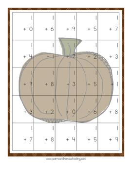 Thanksgiving Kindergarten Learning Pack