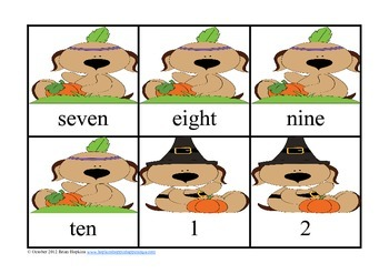 Thanksgiving Kindergarten Letter and Number Fun!