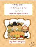 Thanksgiving Kindergarten Math