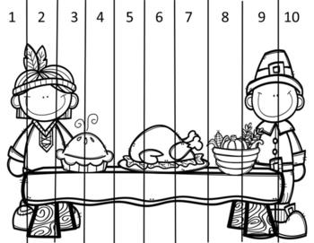 Thanksgiving Math Puzzle Freebie