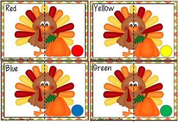 Thanksgiving Kindergarten Pack