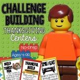 Thanksgiving LEGO STEM Building Challenges