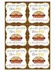 Thanksgiving Labels | Thanksgiving Tags