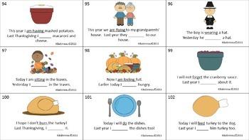 Thanksgiving Language Activity Kit