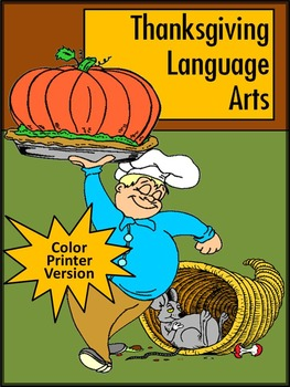 Thanksgiving Grammar Activities: Thanksgiving Language Arts