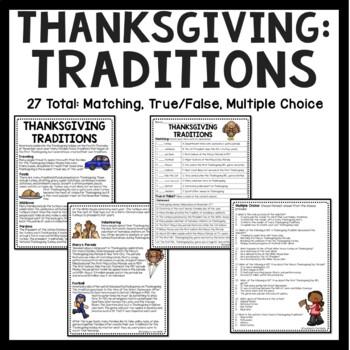 Thanksgiving Language Arts Bundle; Reading Comprehension, Grammar, 8 products