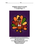 Thanksgiving Language Arts Core Curriculum