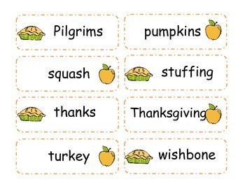 Thanksgiving Language Arts Mini Unit