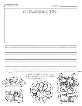 Thanksgiving Language Arts Pack