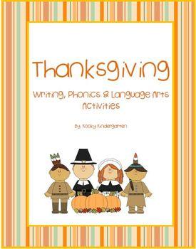 Thanksgiving Language Arts & Phonics Pack