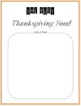 Thanksgiving Language Arts & Writing Bundle