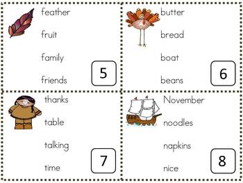 Thanksgiving Language Arts and Math Activities and Centers - HUGE PACKET!