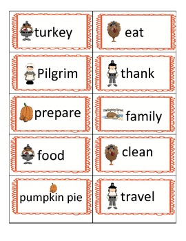 Thanksgiving Language Arts and Math Activities for the Primary Classroom