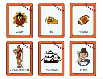 Thanksgiving Language Packet