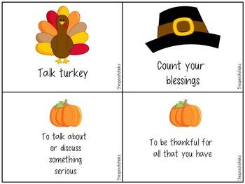Thanksgiving Language Feast