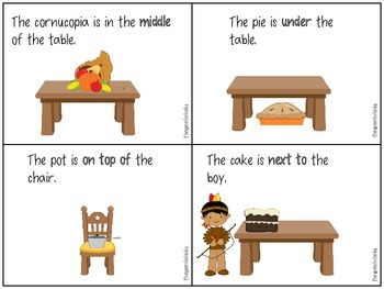 Thanksgiving Language Feast: Basic Concepts