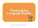 Thanksgiving Language Pack: Synonyms & Analogies