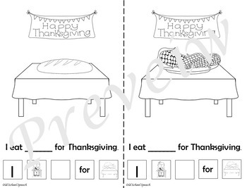 Thanksgiving Language Print & Go